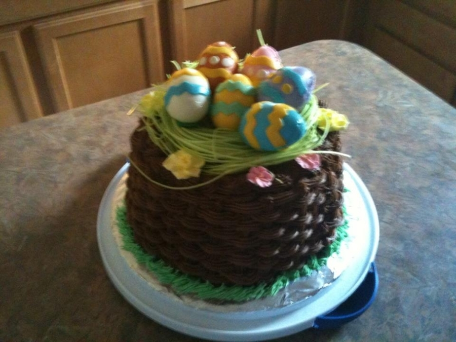 Easter Basket on Cake Central