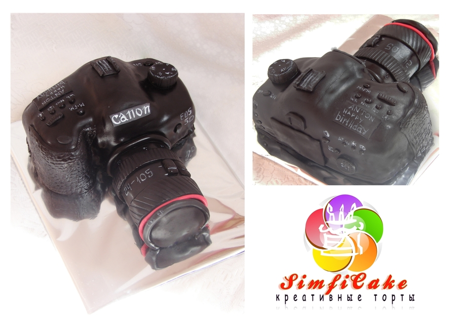 Cake Camera Canon on Cake Central