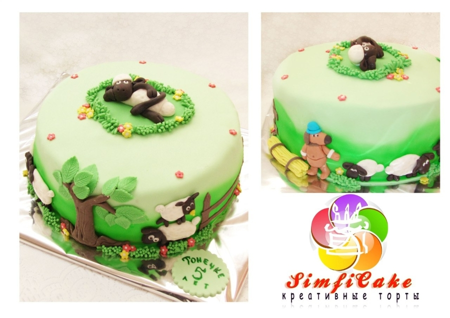 Shaun The Sheep  on Cake Central