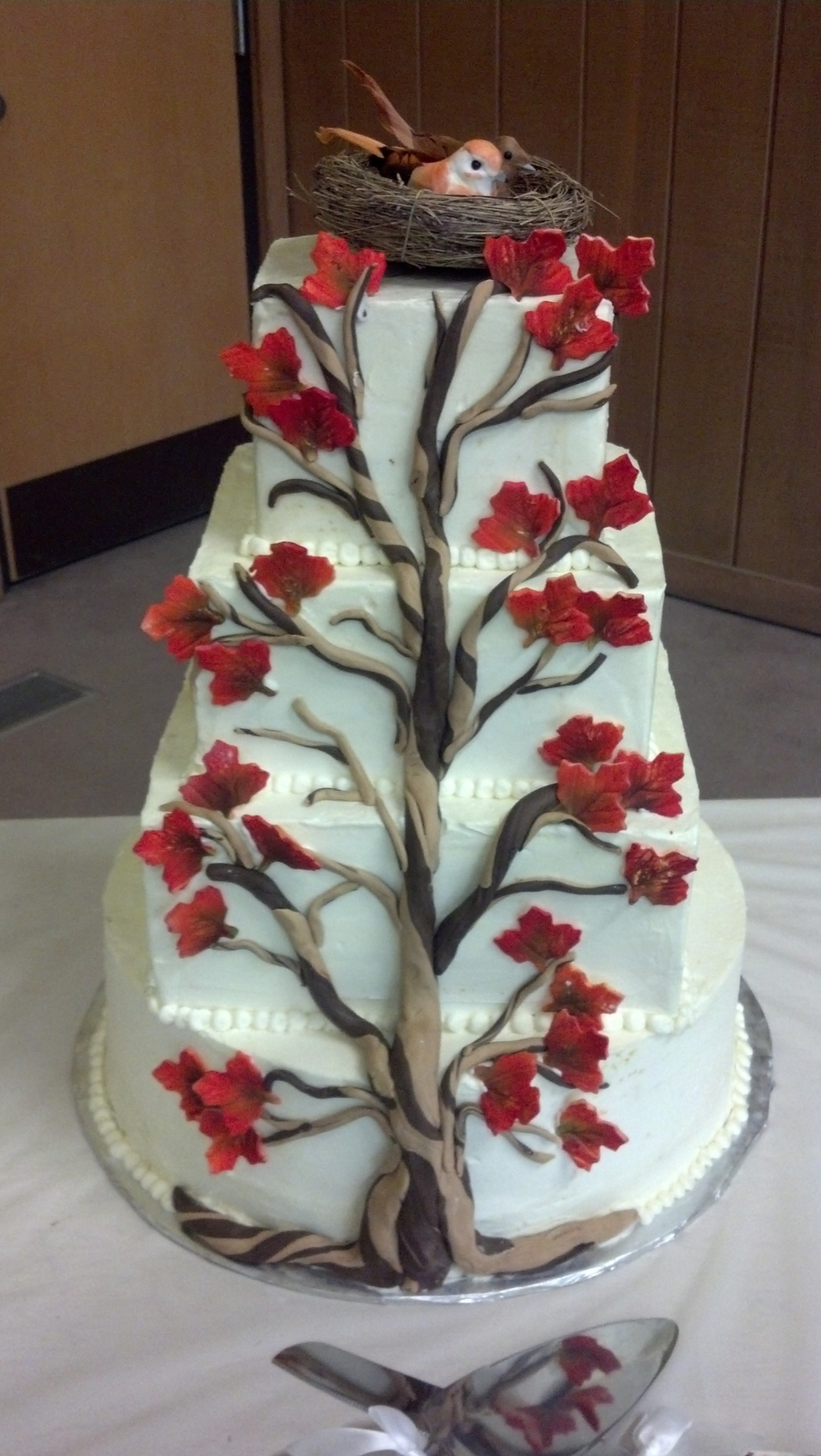 Autumn Tree  on Cake Central