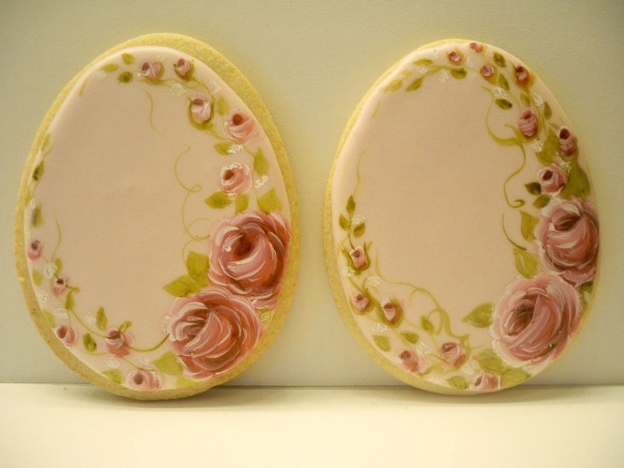 Hand Painted Vintage Easter Eggs on Cake Central