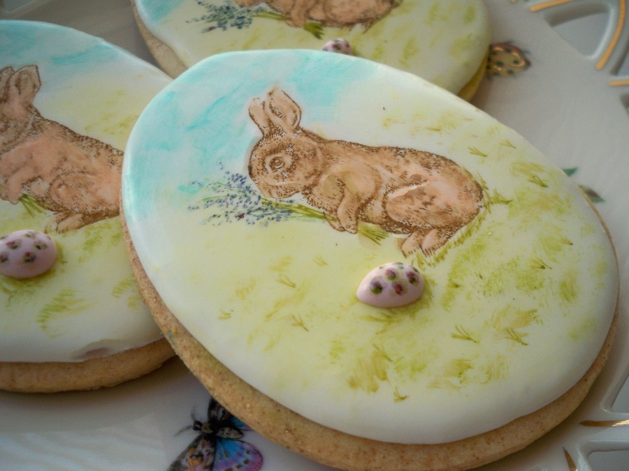 Easter Bunny on Cake Central