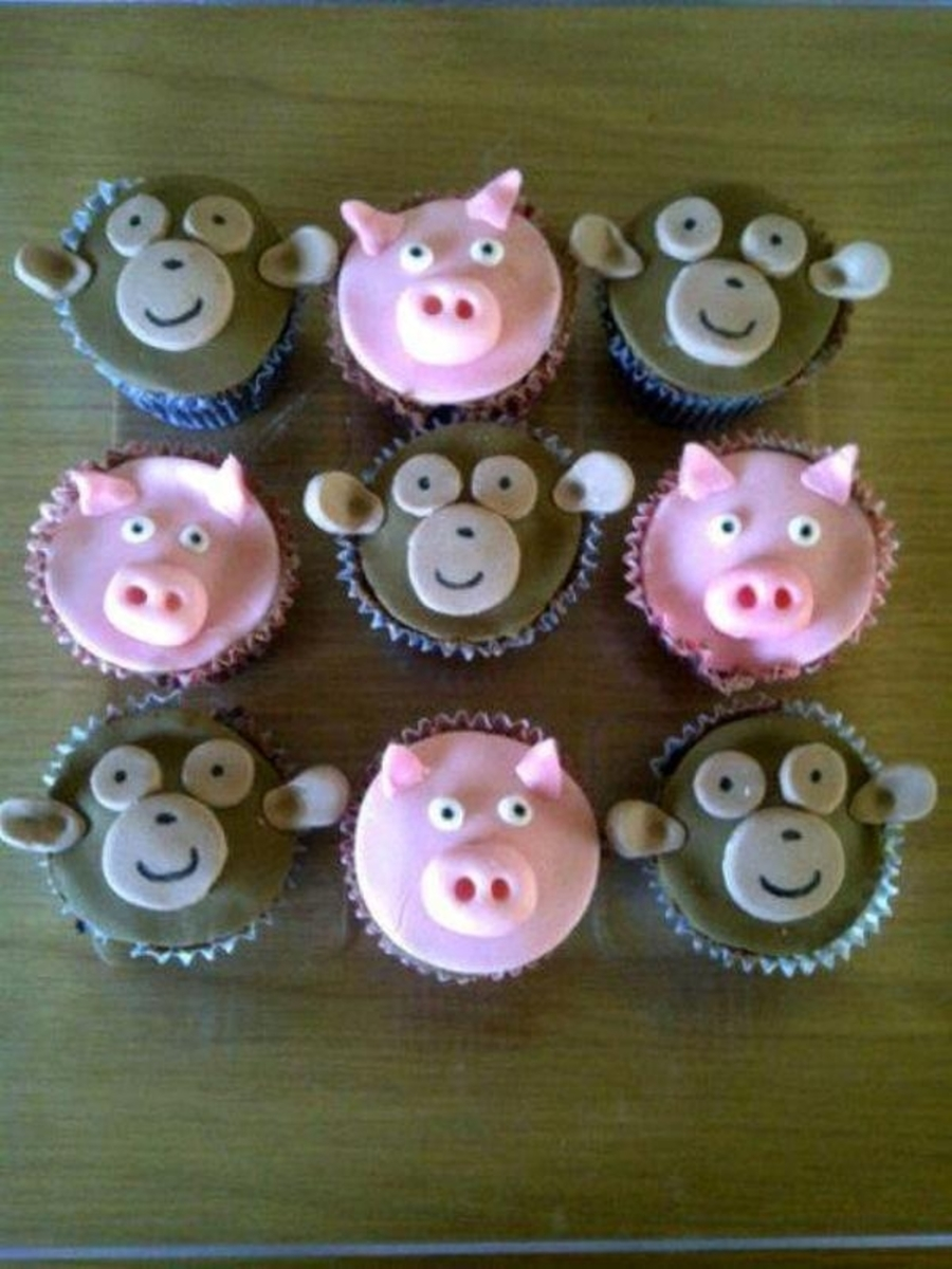 Pigs And Monkeys on Cake Central