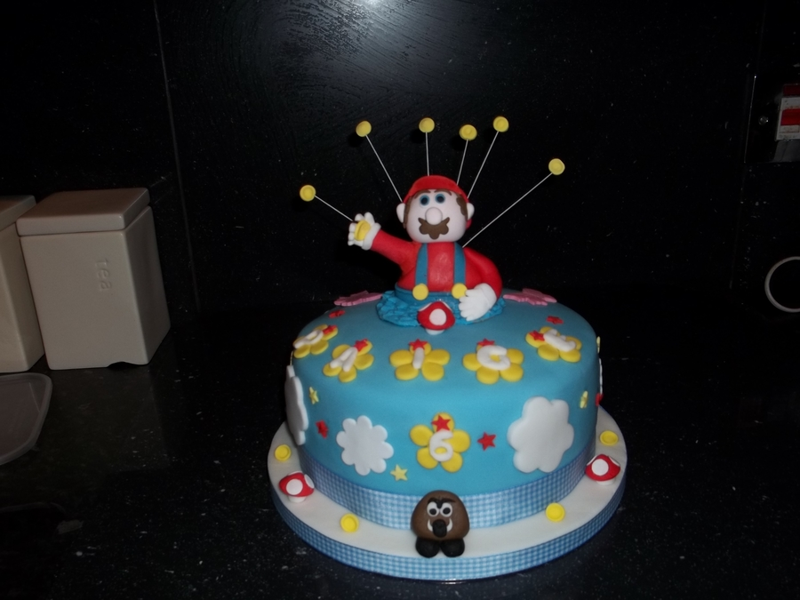 Mario  on Cake Central