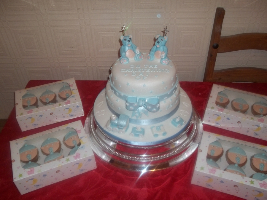 For Twins on Cake Central