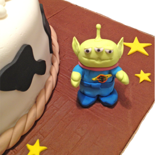 Toy Story Gum : Disney toy story birthday cake gumpaste characters and