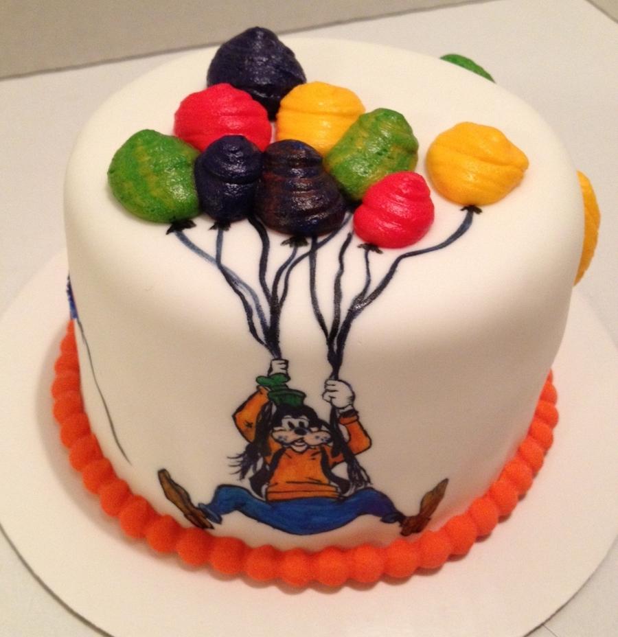 Cool Disney Goofy Birthday Cake Cakecentral Com Funny Birthday Cards Online Barepcheapnameinfo