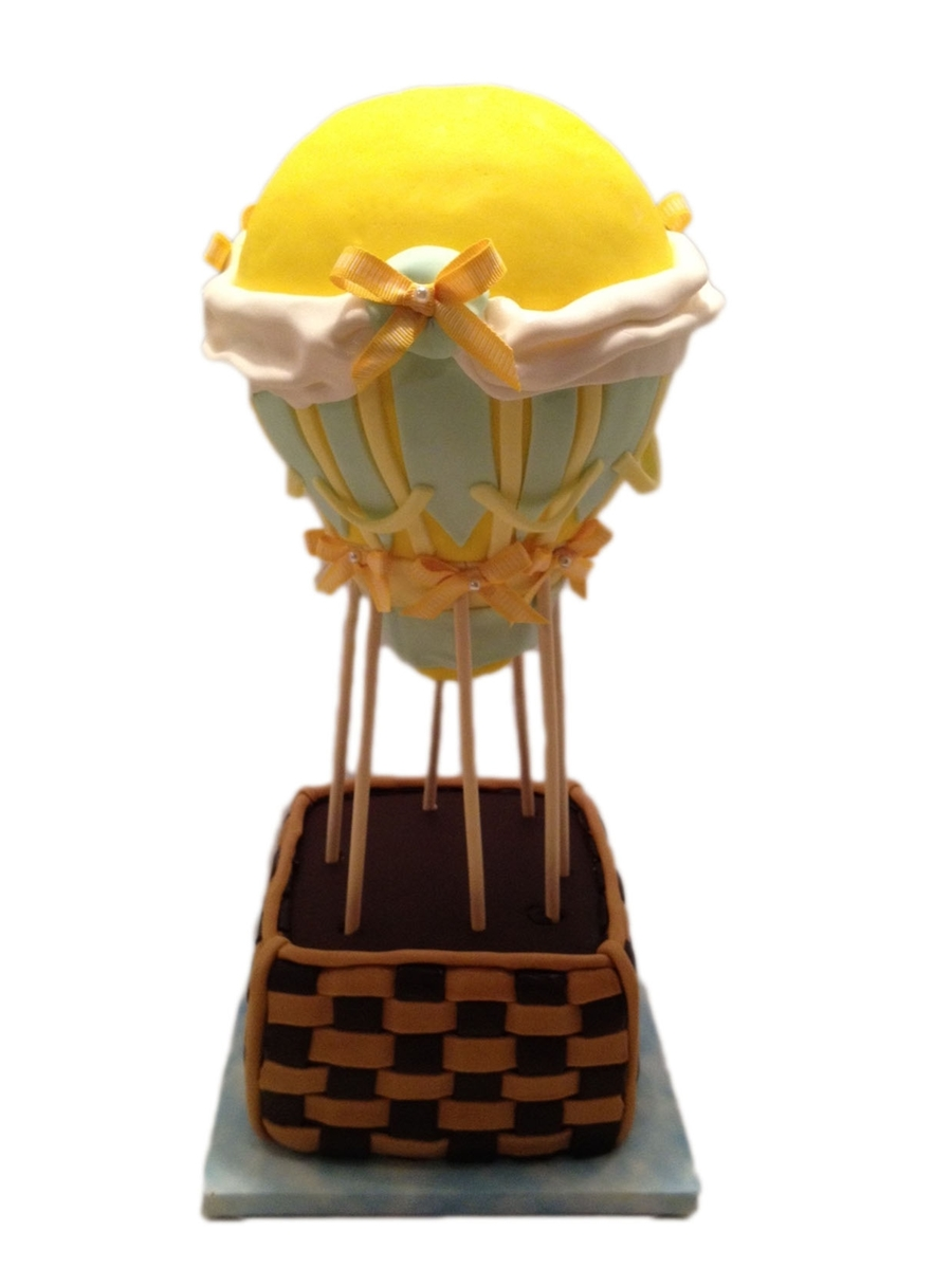Hot Air Balloon on Cake Central