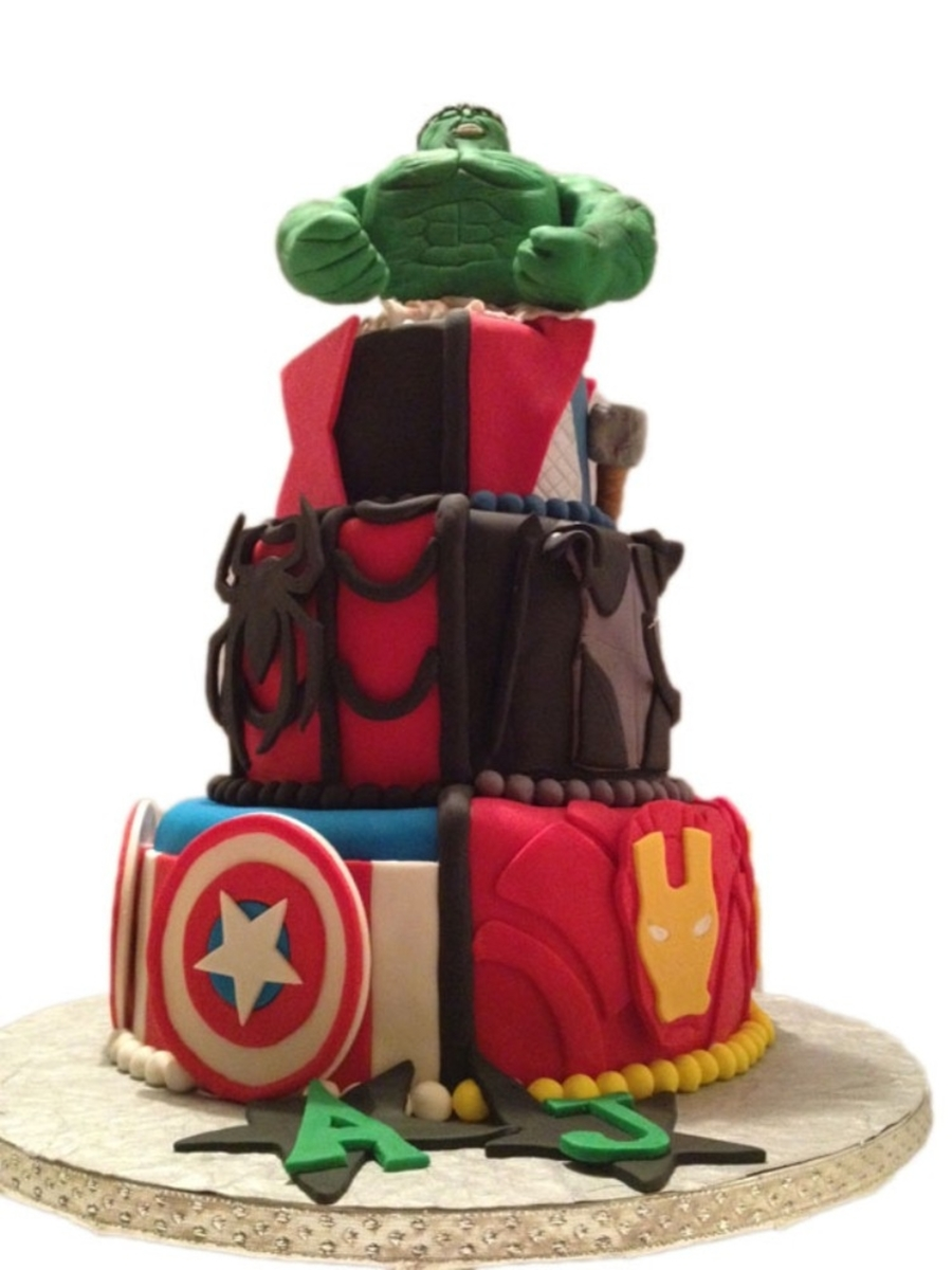 Image Result For Hawkeye Birthday Cake