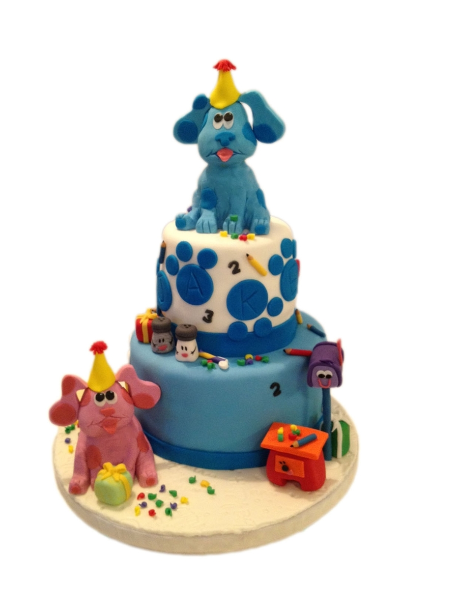 Blues Clues Boys Birthday Cake Cakecentral