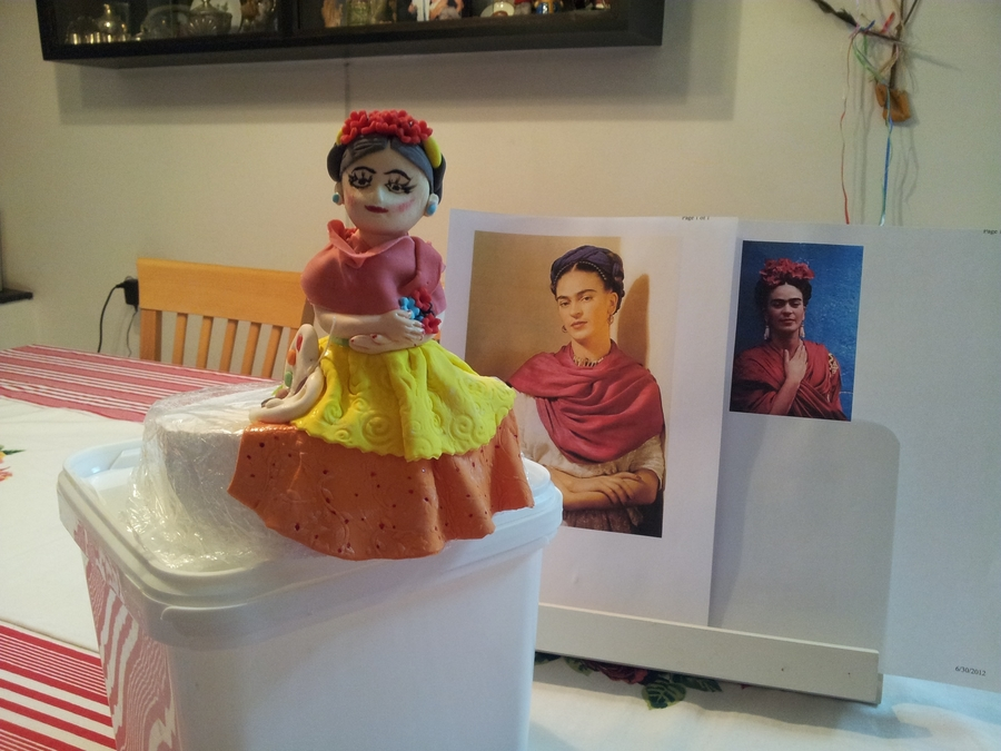 Frida Kahlo on Cake Central