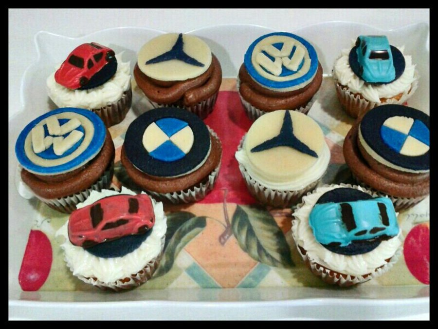 Car Themed Cupcakes on Cake Central