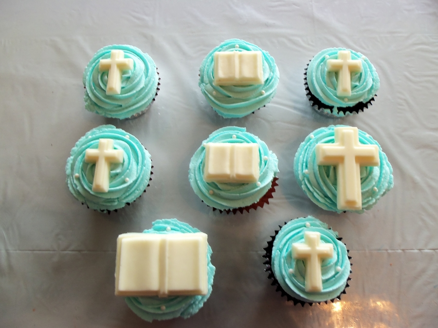 Religious Cupcakes  on Cake Central
