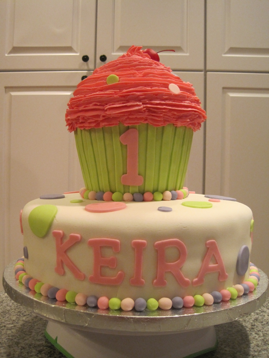 Keira's First Birthday on Cake Central