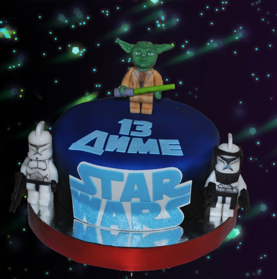 Lego Star Wars Cake on Cake Central