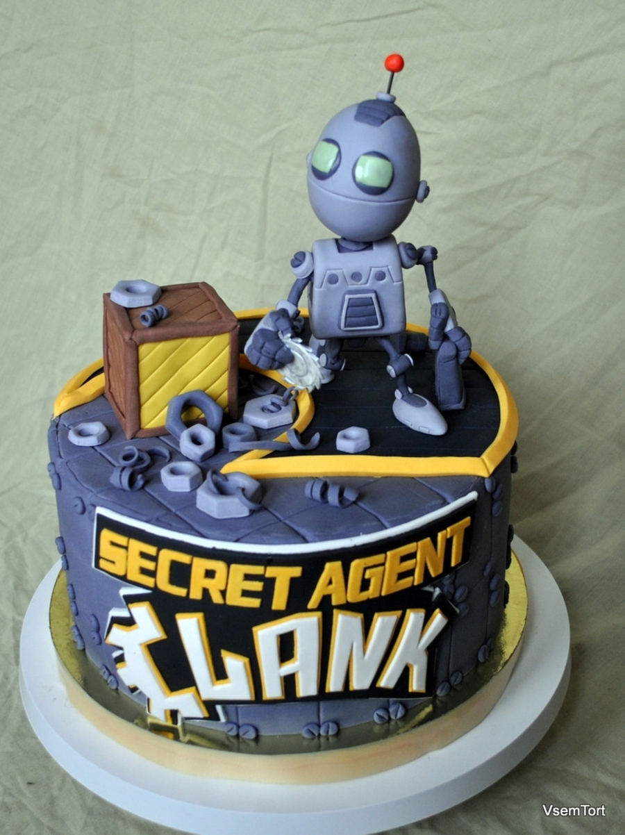 Secret Agent Clank on Cake Central
