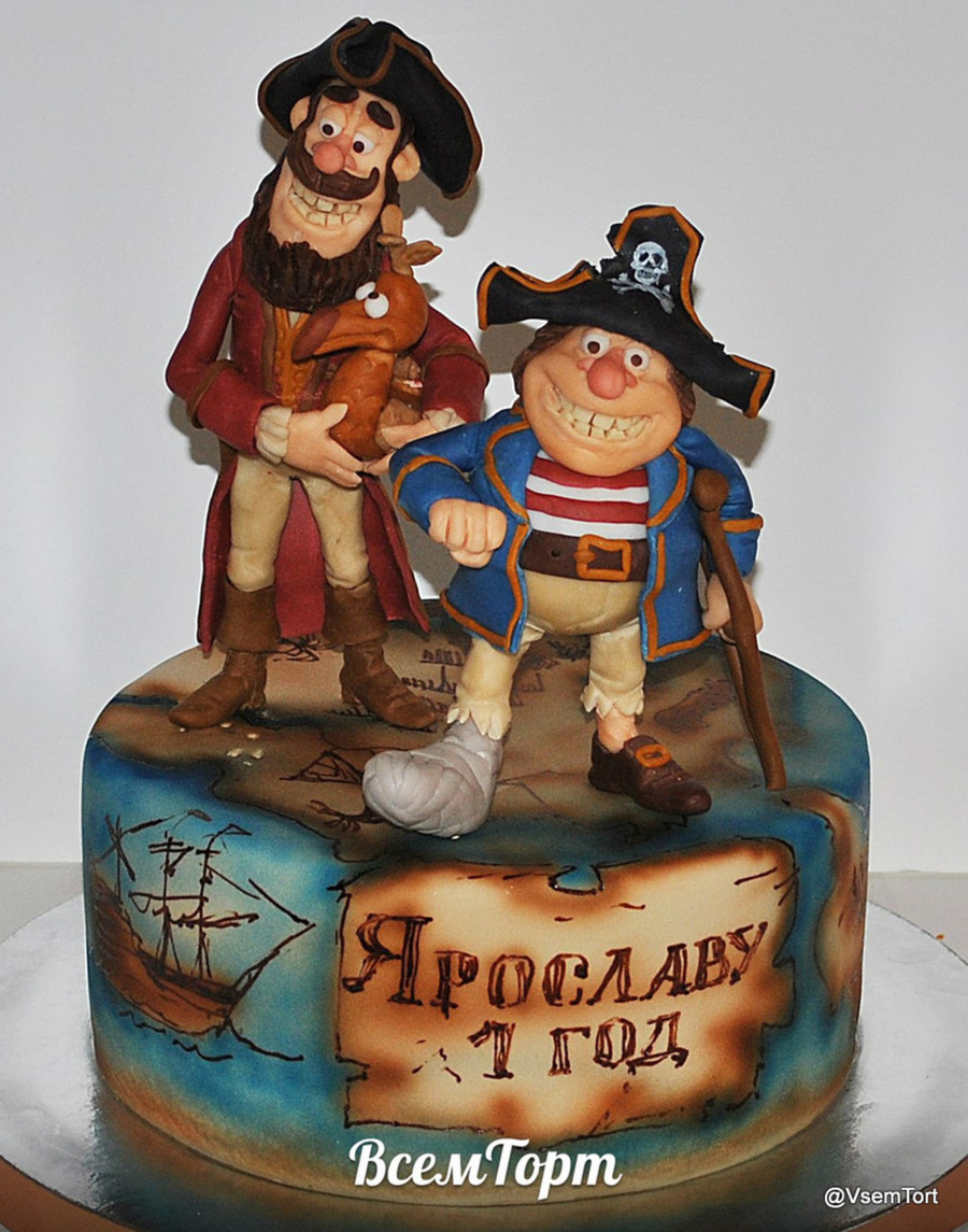 Pirate Happiness on Cake Central