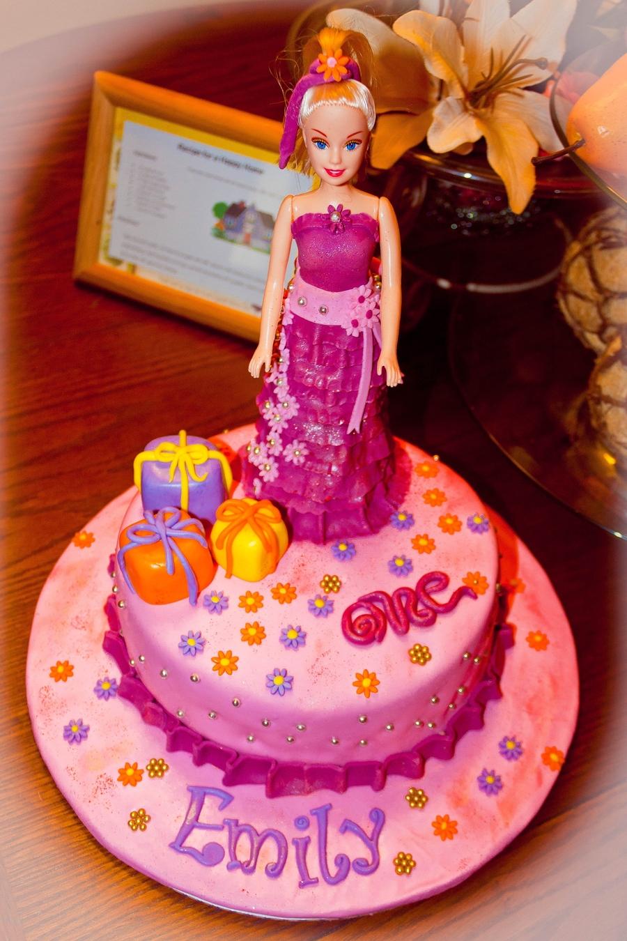 Superb Barbie Cake Cakecentral Com Birthday Cards Printable Opercafe Filternl