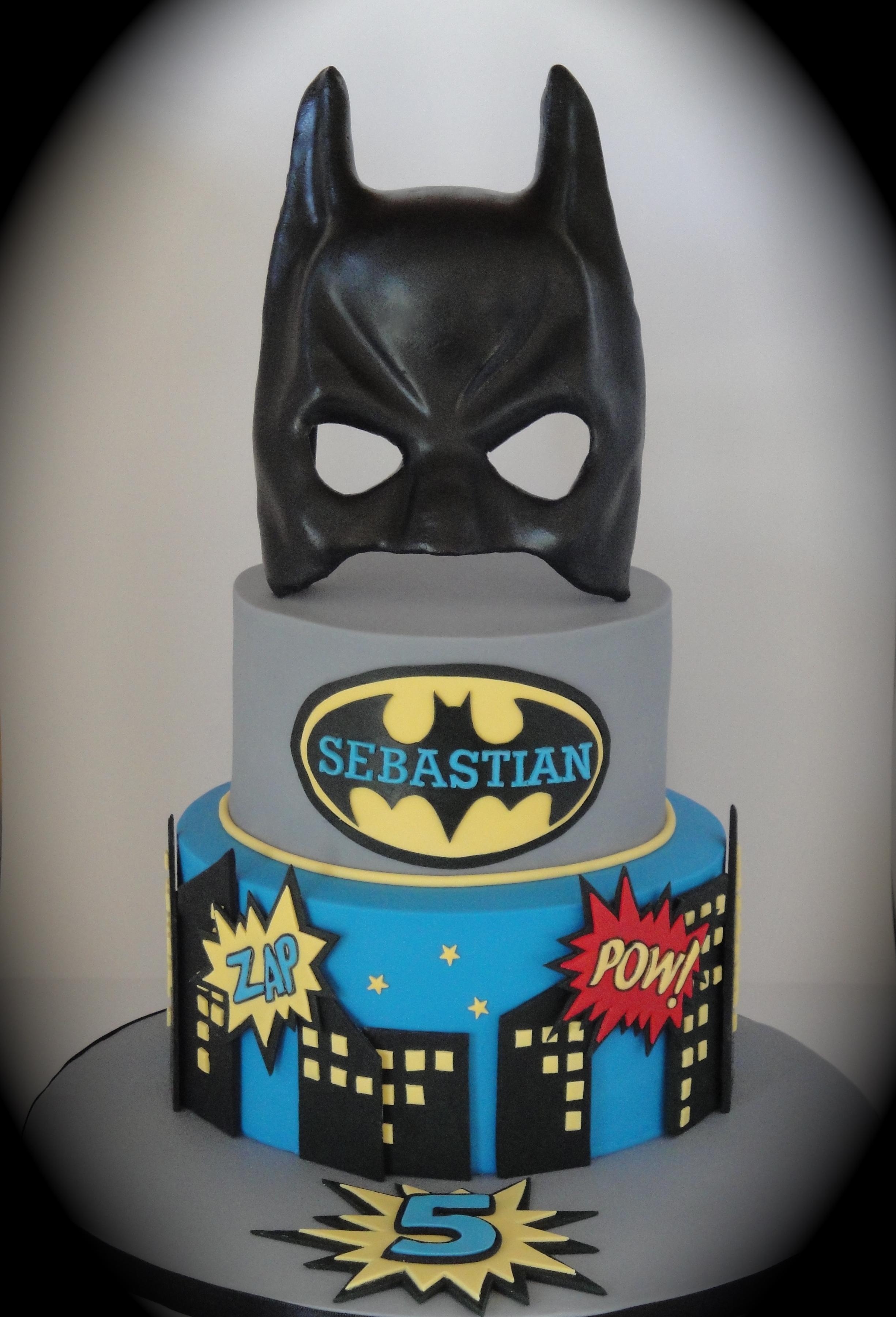 Chocolate Superhero Cake