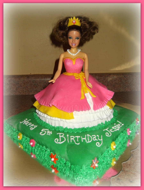 Doll Dress Cake on Cake Central