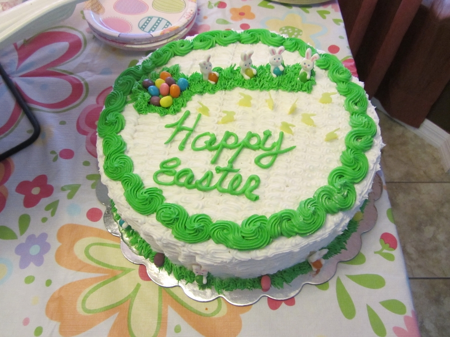 First Easter Cake on Cake Central