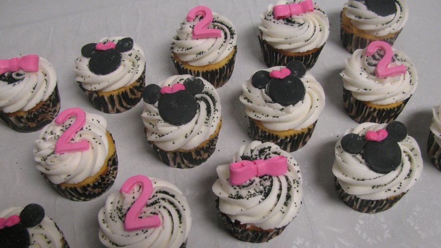 Minnie Mouse Cupcakes on Cake Central
