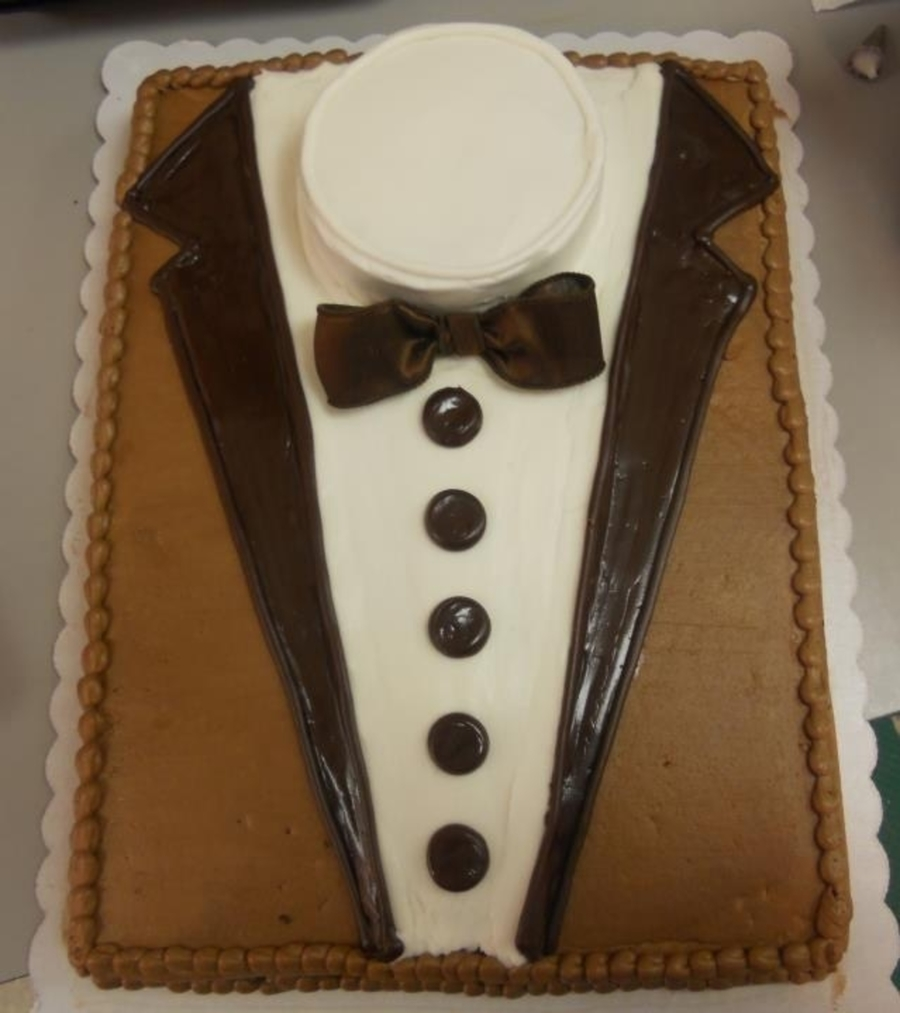 Tux Cake on Cake Central