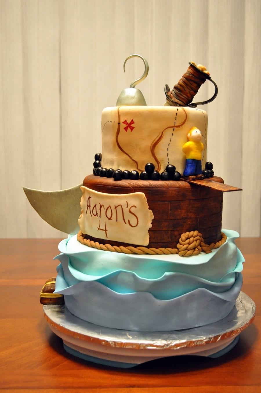 Pirate Cake - CakeCentral.com