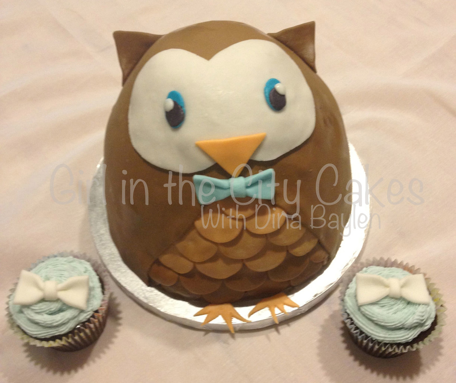 Owl 1  on Cake Central