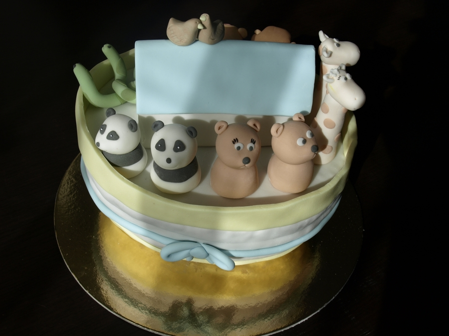 Noahs Ark  on Cake Central