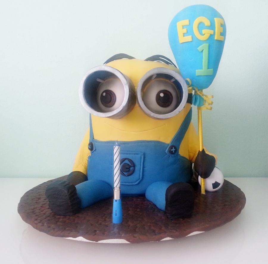 Minion Cake Recipe D