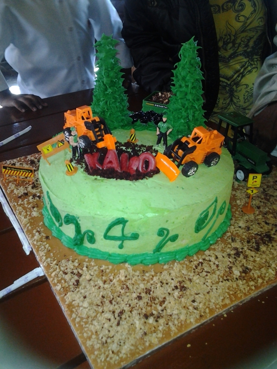 Excavation Cake on Cake Central