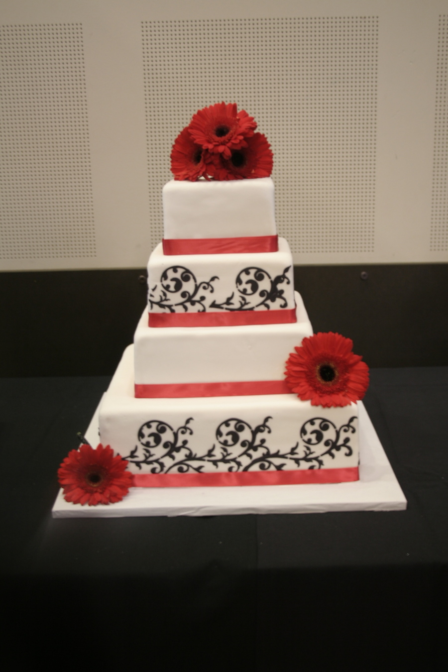 This Cake Was Done For My Nephews Wedding  on Cake Central