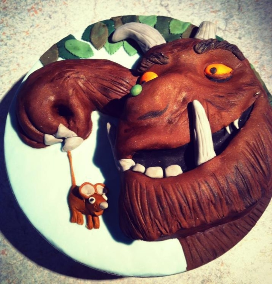The Gruffalo Cake For Those Of You Who Are Unsure Of Who He Is Hes A Character In A Book on Cake Central