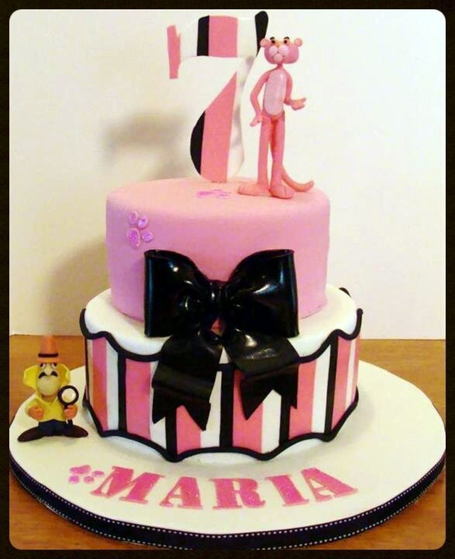 Pink Panther on Cake Central