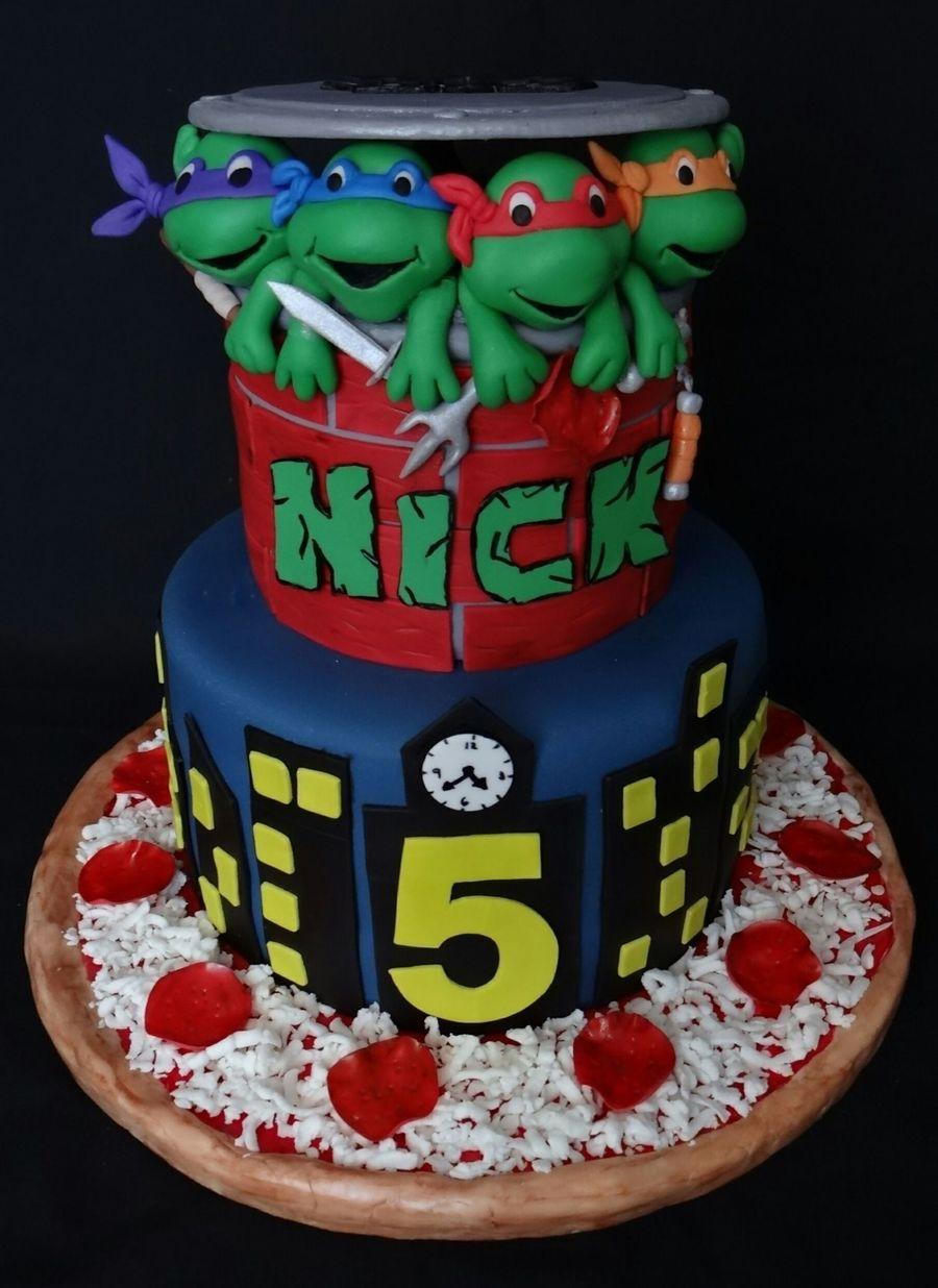 Teenage Mutant Ninja Turtles Cakecentral Com