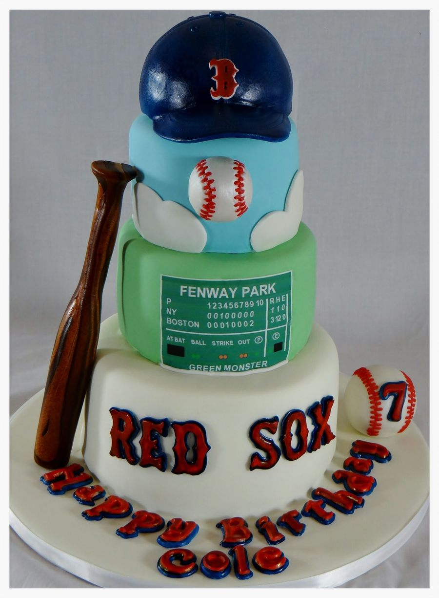 Red Sox Cake on Cake Central
