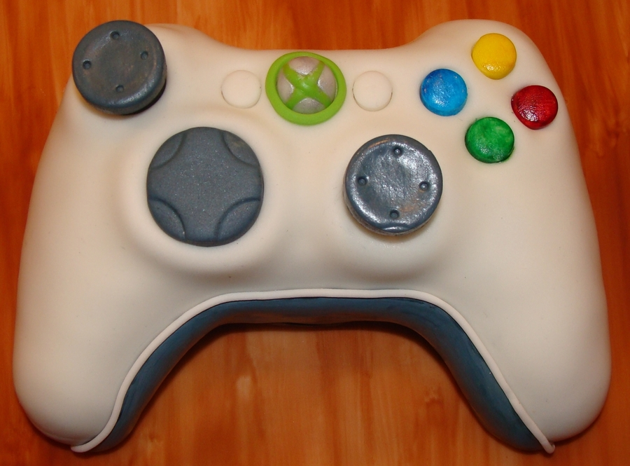 Xbox 360 Controller on Cake Central