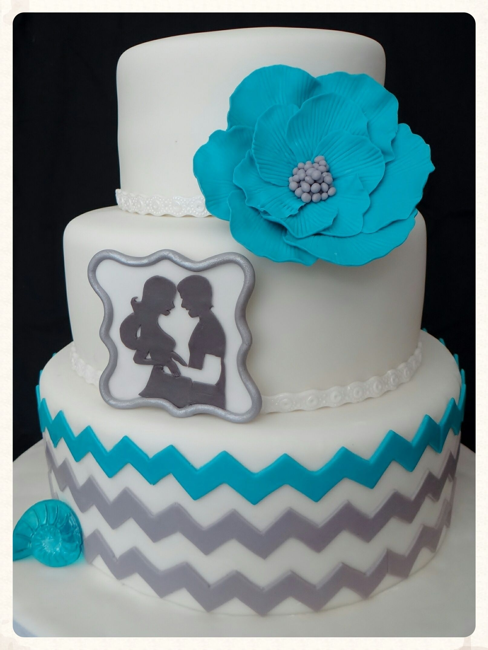 Clean Simple Cake Design With Jessica Harris : Techniques Used Were From Craftys Clean And Simple Cake ...