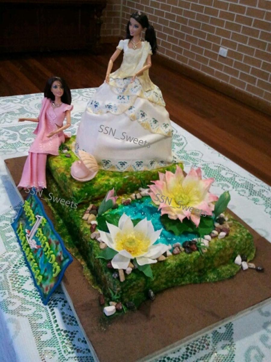 Indian Princess Doll Cake Cakecentral Com