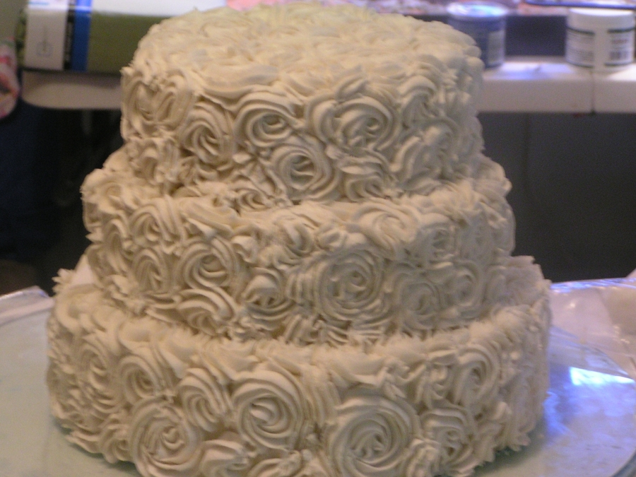 Another Cake Dummy - Rosette on Cake Central
