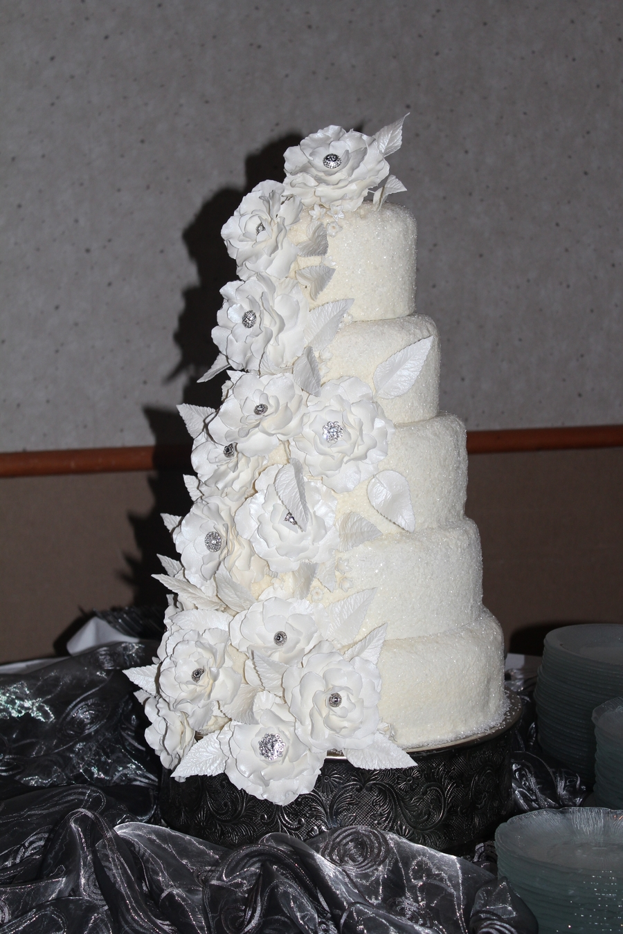 New Year S Eve Wedding Cake Cakecentral Com