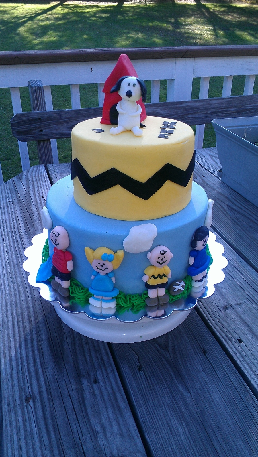 Charlie Brown Cake on Cake Central