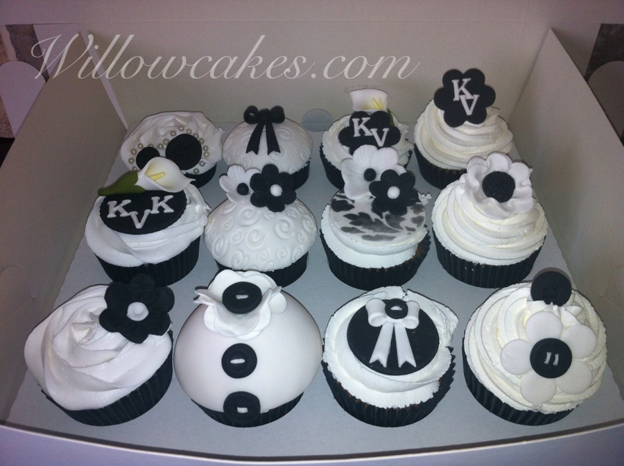 Black And White Cupcakes on Cake Central