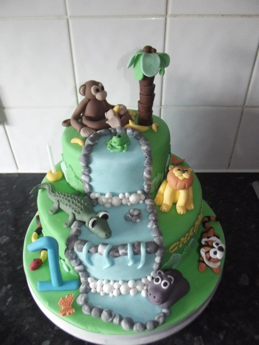 Jungle Cake on Cake Central
