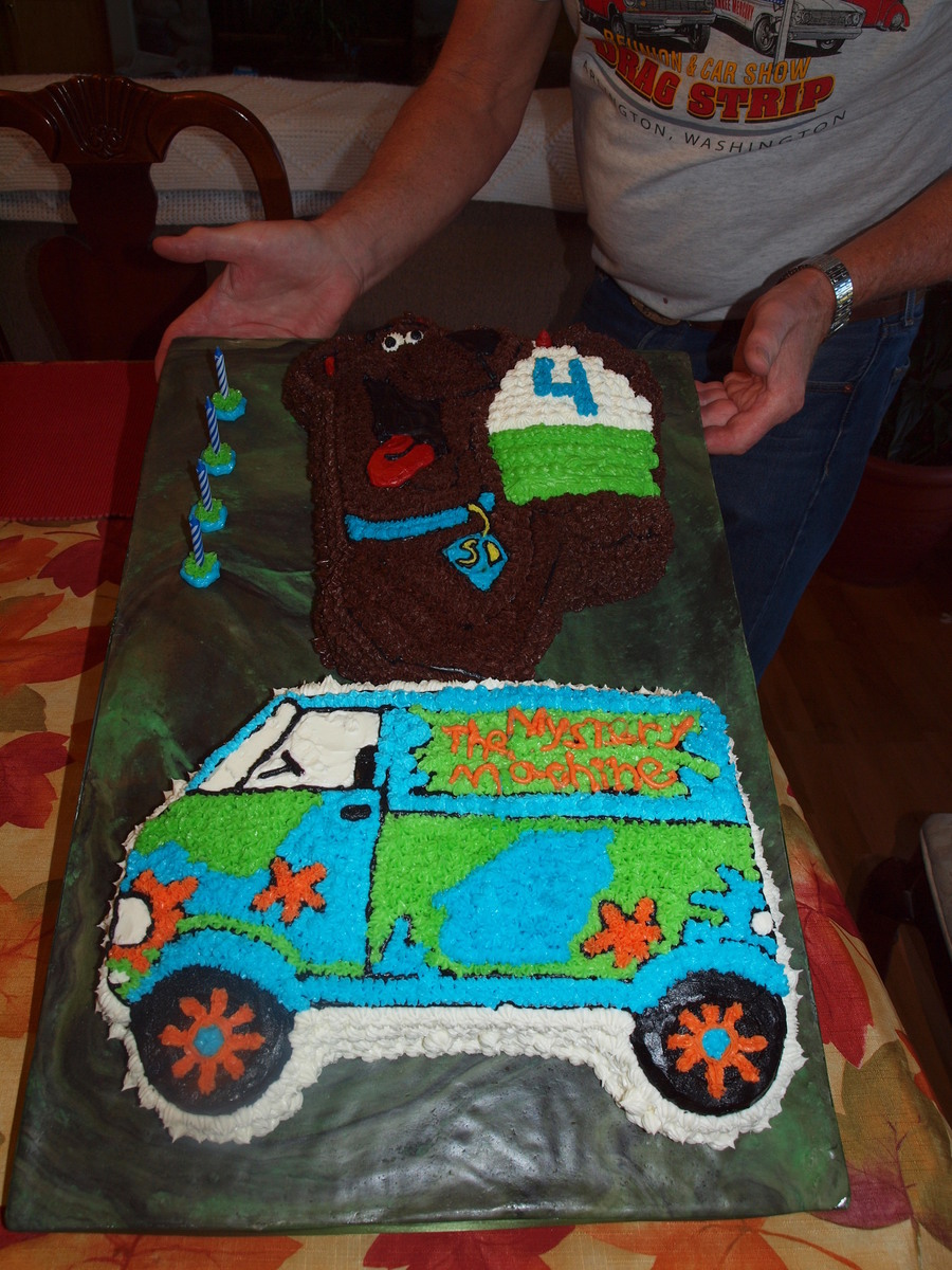 Grandsons 4Th Birthday He Loves Scooby Doo on Cake Central