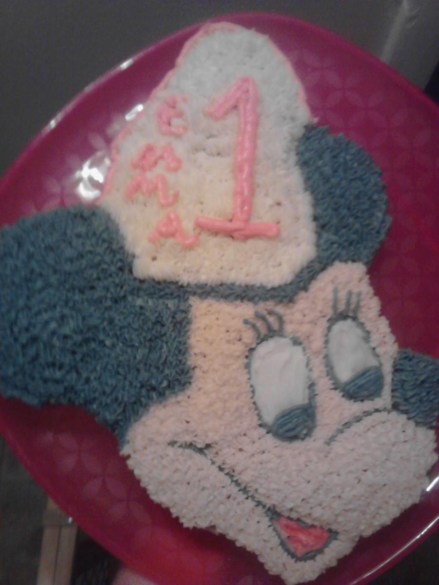 Attempt At Mickey/mini Mouse on Cake Central