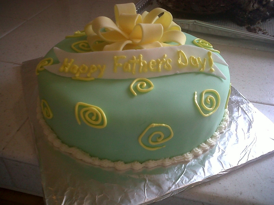 Happy Fathers Day on Cake Central
