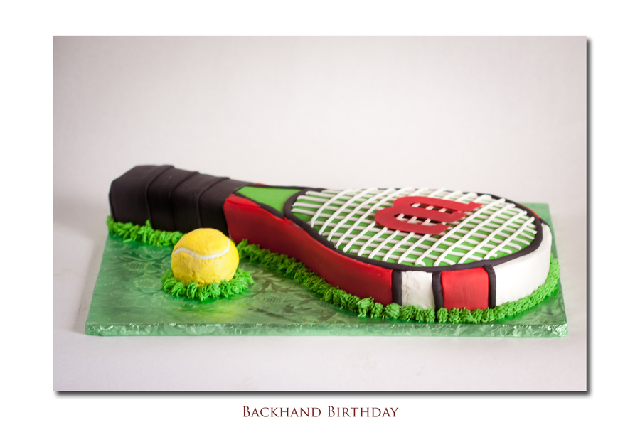 Birthday Cake For A Tennis Coach on Cake Central
