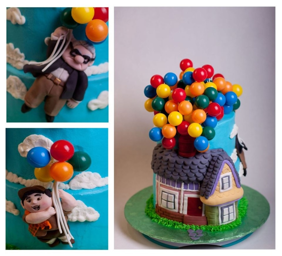Up Themed Birthday Cake For My 3Year Old Grand Daughter on Cake Central
